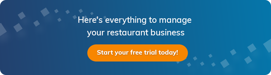 eZee to manage your restaurant business
